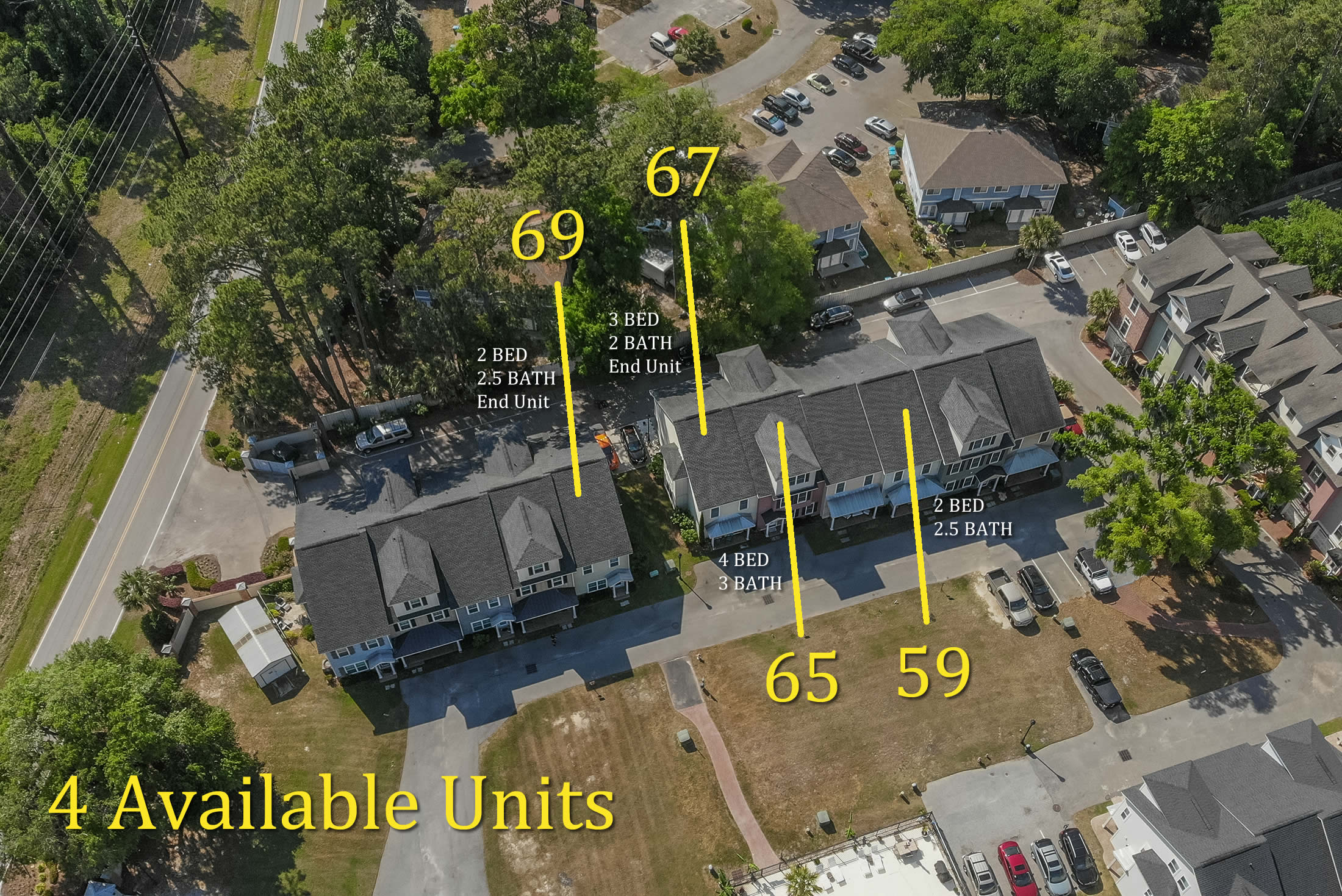Available Units in The Village at Battery Creek